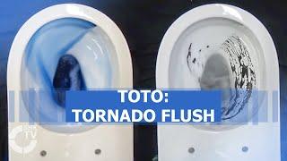TOTO: WC-Spülung Tornado Flush