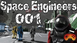 Space Engineers #001 Die endlosen Weiten - Space Engineers - German - Deutsch - Gameplay
