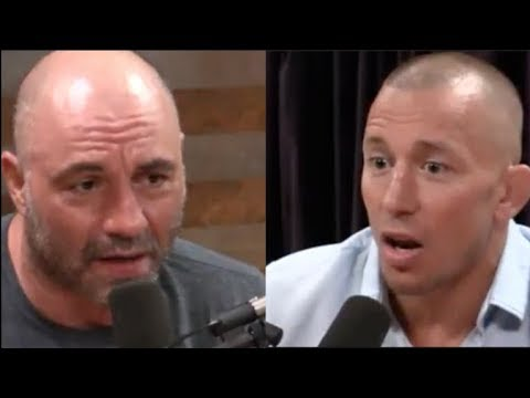 Joe Rogan - Georges St-Pierre Had Ulcerative Colitis During Michael Bisping Fight