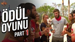 Ödül Oyunu 1. Part   38. Bölüm   Survivor Türkiye - Yunanistan