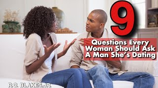 What are some questions you ask a guy before dating him ...