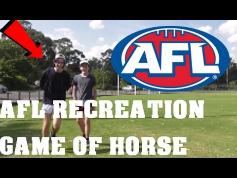 AFL GOAL RECREATION GAME OF HORSE