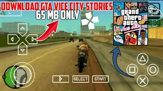 [65]MB Download Gta Vice City stories for Android devices