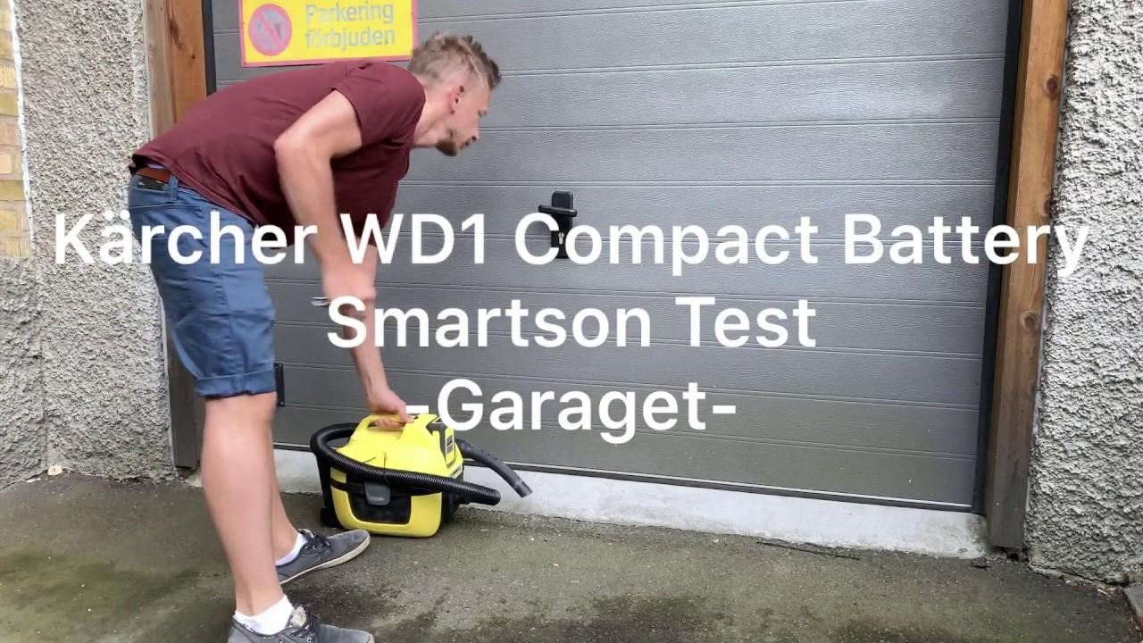 Fantastisk Kärcher WD1 Compact - Smartson Test i Garaget - YouTube BS-69