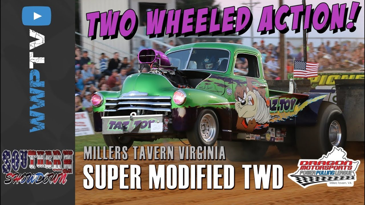 6200 Super Modified TWD Trucks pulling at Millers Tavern September 22 2017