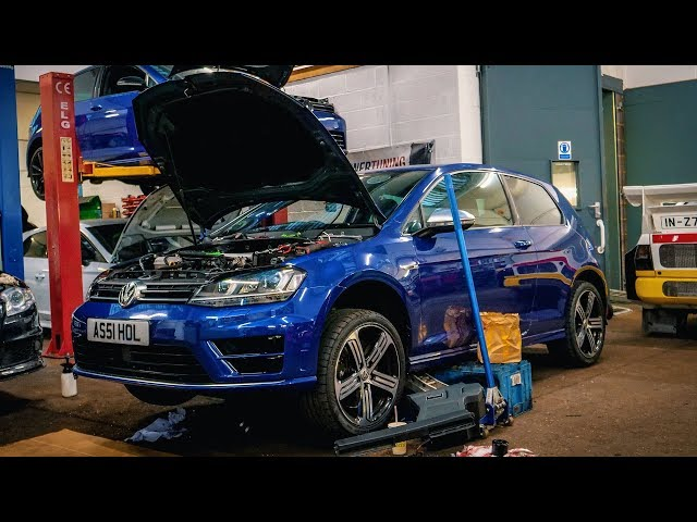 My 600 BHP Golf R. 1 Month Later........