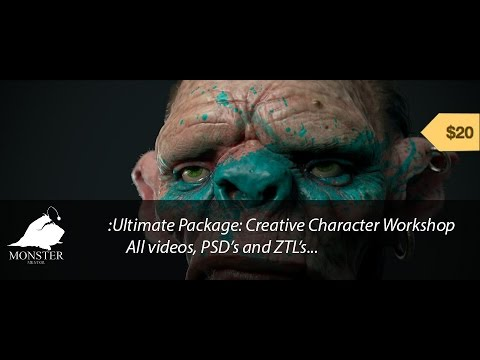 Creative Character Workshop Introduction and Overwiew
