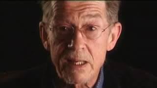 John Hurt speaking out