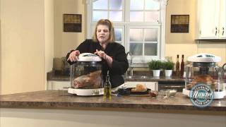 How to cook a roasted turkey in the NuWave Oven.