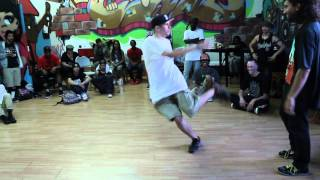 Down By Law 2 Top Rock Battle : BBoy Q-Vo vs Animal