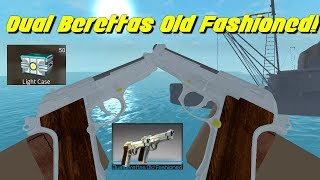 Dual Berettas Old Fashioned Gameplay! (Counter Blox)
