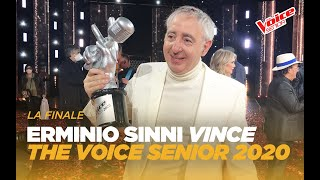 Erminio Sinni è il vincitore di The Voice Senior