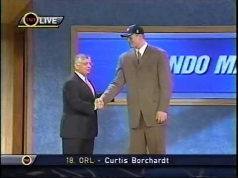 Curtis Borchardt - 2002 NBA Draft - Pick #18