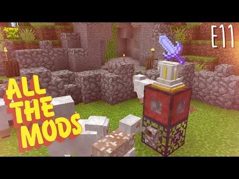 All the Mods - E11 - Calculator Mod, Nutrition Module, and Soul Shards (Modded Minecraft 1.10.2)