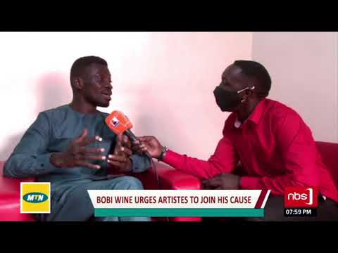 Bobi Wine urgues artistes to join his cause  Uncut