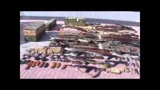 Оружие сепаратистов Луганск  Служба безопасности Украины в Луганской области задержала и разоружила.