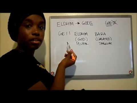 Elohim Explanation