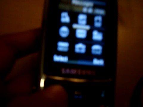 Samsung D900i details