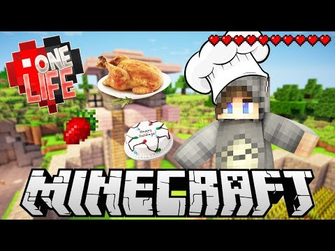 Best Chef On The Server! - One Life Season 2 Minecraft SMP - Ep.29