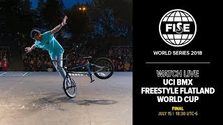 FWS EDMONTON 2018: UCI BMX Freestyle Flatland World Cup Final