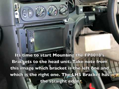 vt commodore wiring diagram 2016 chevy sonic radio vx facia installation kit fp8018 - youtube