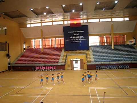 Aerobic Thiếu niên Tự chọn hè 2010 Quận Ba Đình - Hà Nội