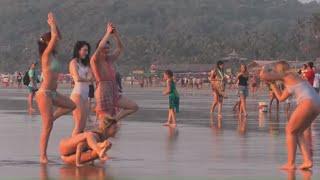 Arambol Beach Morning & Sunset