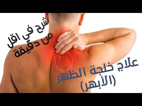 Back Trigger Point Treatment شرح بأقل من دقيقة علاج الأبهر خلجة الظهر Shorts Youtube