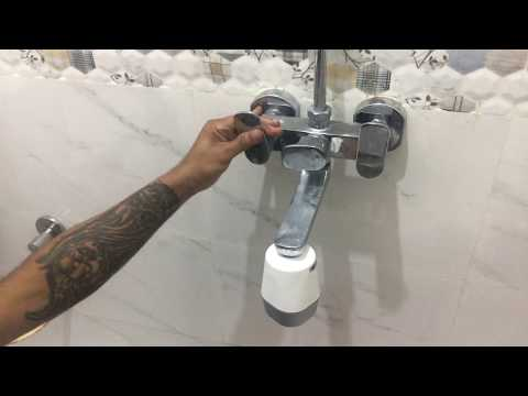 How to fit Cleo SFU 717 | Shower and Tap Filter | 4k Video