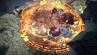 Path of Exile: Celestial Flameblast