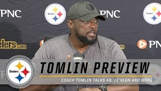 Coach Tomlin previews Training Camp | Pittsburgh Steelers