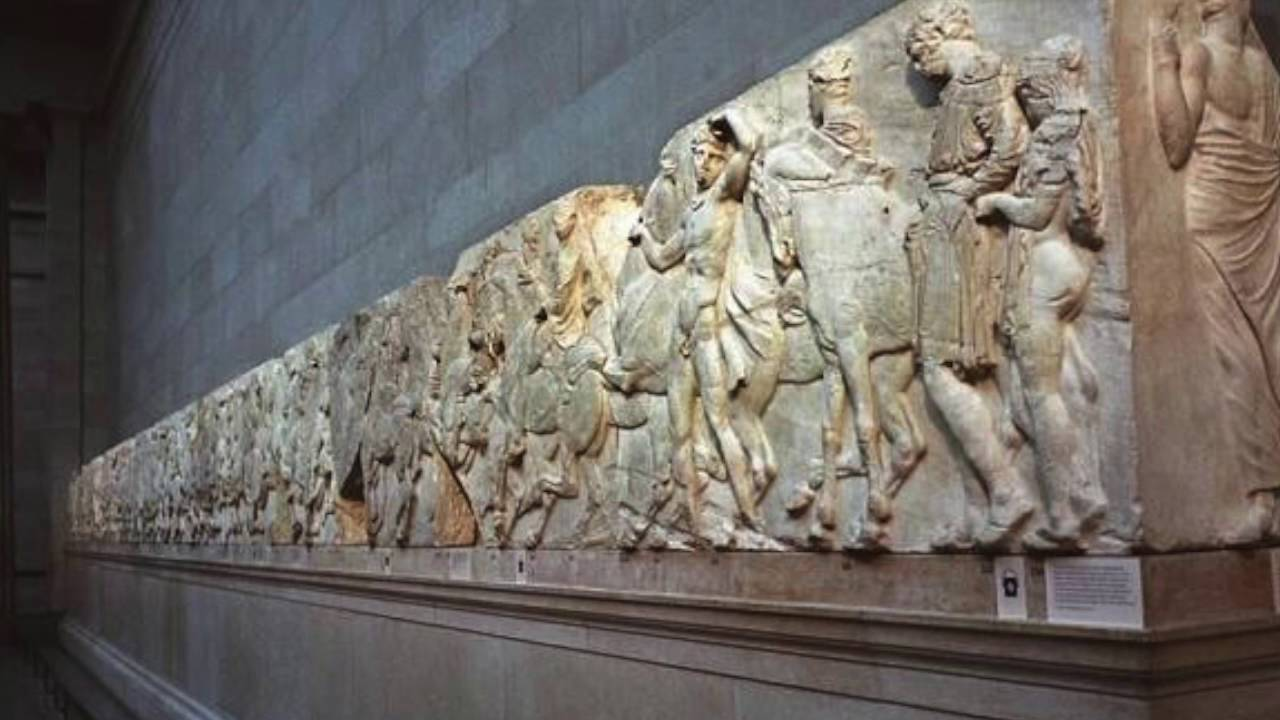 Quot On Seeing The Elgin Marbles Quot An Interpretation Youtube