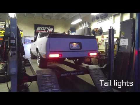 82 El Camino LED Taillight Conversion