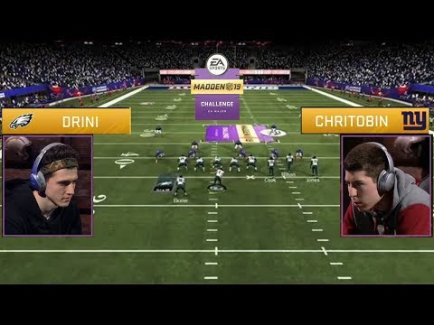Madden '19 Challenge Championship Full Game: The Reigning Champ vs. The Rookie