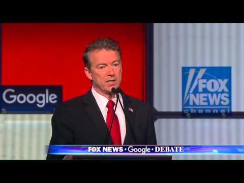 GOP Debate: Rand Paul says war on drugs disproportionately affecting African-Americans.