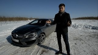 видео Тест-драйв Mercedes-Benz CLA