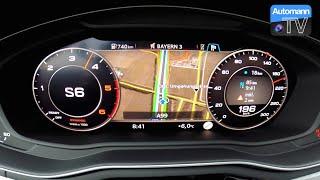 2017 audi a4 allroad 3 0 tdi 272hp 0 200 km h acceleration 60fps