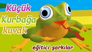 küçük kurbağa | 0-3 yaş şarkıları | tiki toko çocuk şarkıları bölüm 1 | çocuk çizgi filmleri