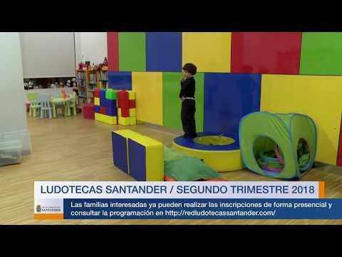 Ludotecas de Santander / Segundo trimestre 2018