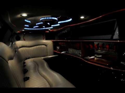 Limousine Nr 5 Innen Stretch Town Car Avi Youtube