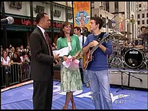 Jason Mraz - Interview (Today Show, 2005-07-30)