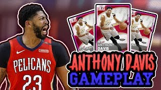 PINK DIAMOND ANTHONY DAVIS CANT BE STOPPED! *2 RAGE QUITS*