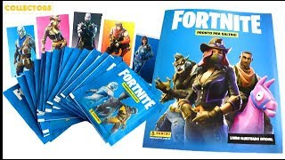 FORTNITE READY TO JUMP - OPENING STICKERS PACKS
