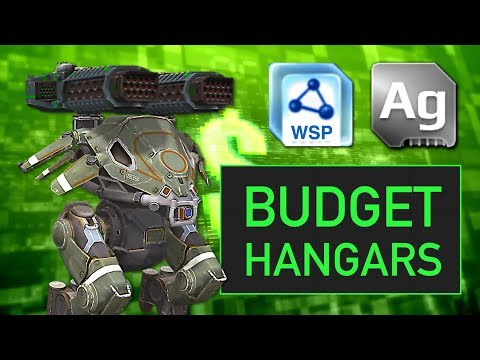 Budget Hangars: Silver & Workshop Only (Part 2)