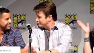 Comic-Con - Castle Panel - Nathan Fillion