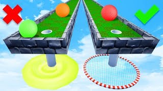 Pick The Correct Hole OR LOSE! - Golf It