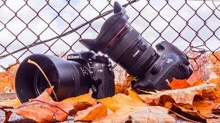 مقارنه بين كانون canon 7d mark II و نيكون nikon d7100