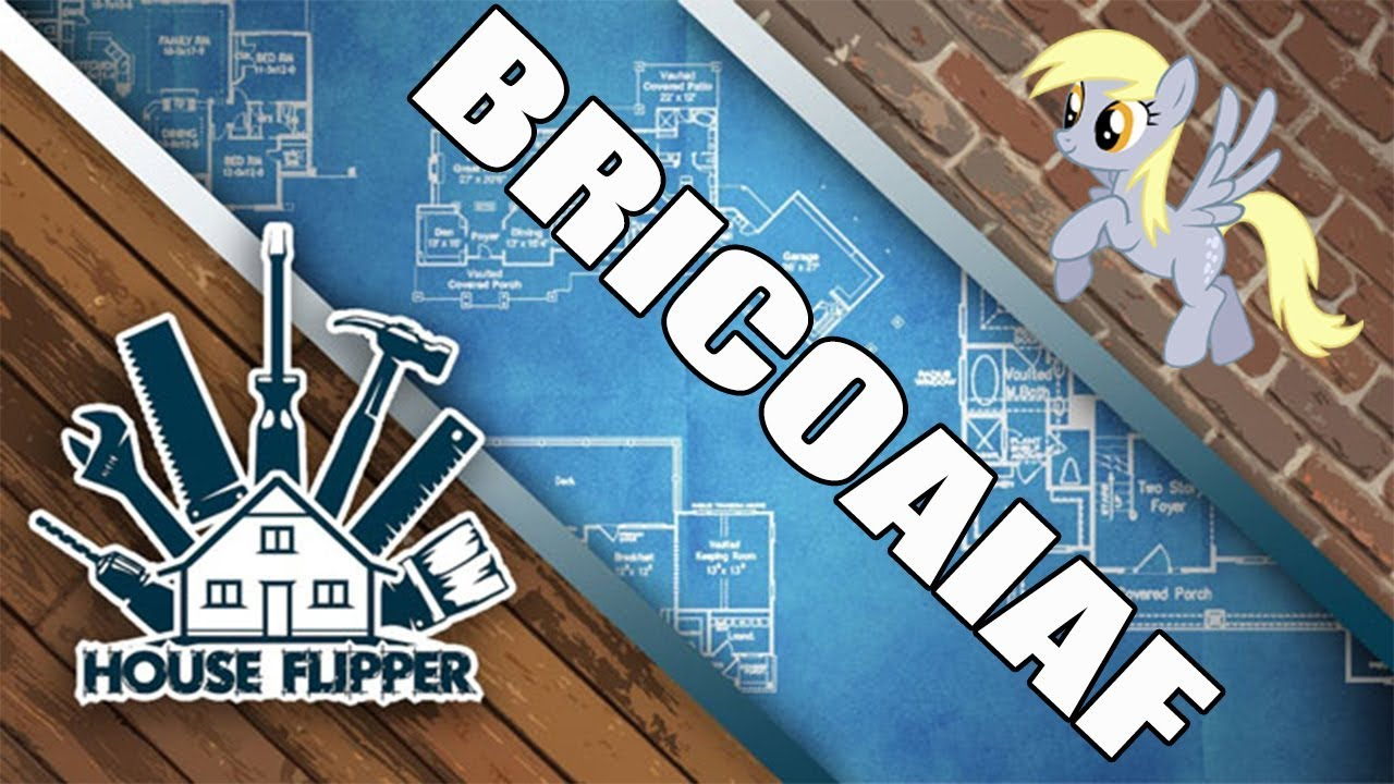 HOUSE FLIPPER PC: !BRICOAIAF!, PINTAR Y MONTAR UN CUARTO ...