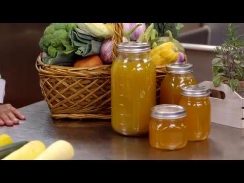 Organic vegetable stock [Recipe]