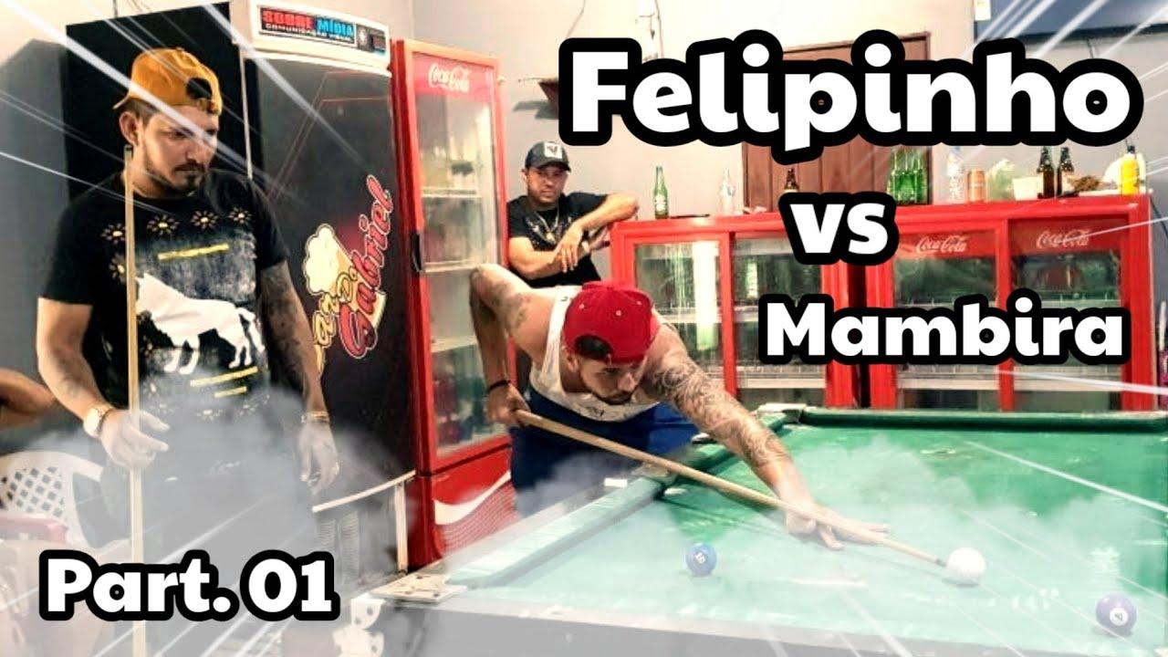 MELHORES MOMENTOS DO JOGO! FELIPINHO vs MAMBIRA - SANTARÉM/PA (PART.01)